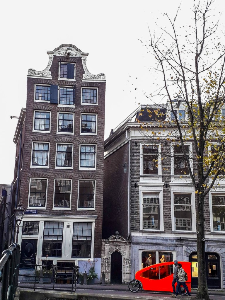 A typical Amsterdam house