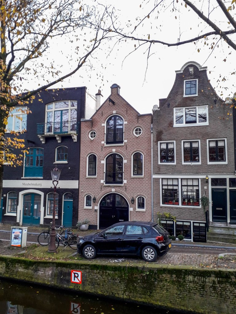 Typical Amsterdam canal houses