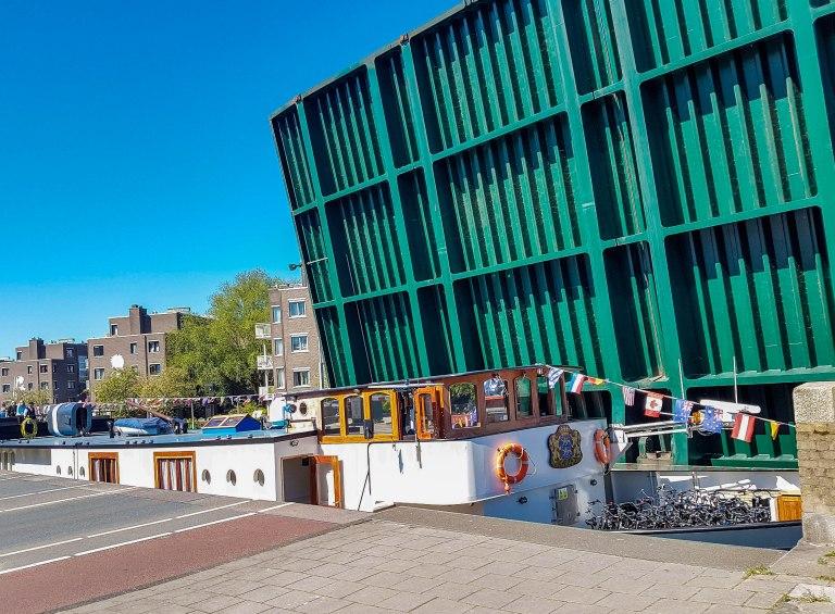 Beltbrug - movable bridge Westerpar Westerpark Jan van Galenstraat x Tweede Hugo de Grootstraat