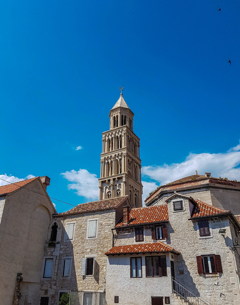 Bell-tower-Split-Croatia