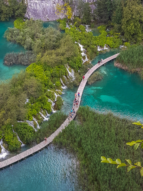 Plitvice-Lakes-from-above