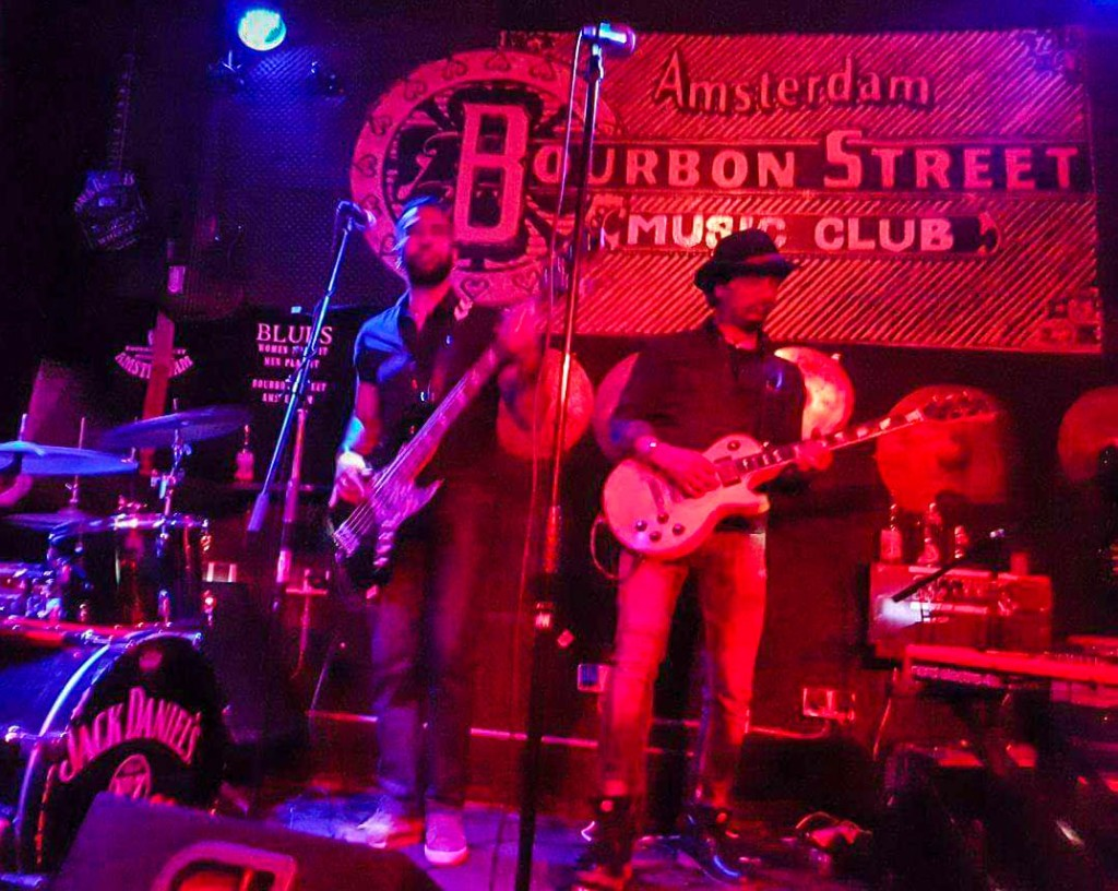 Bourbon Street Music Club in Amsterdam