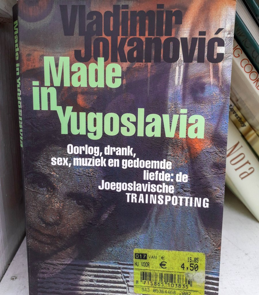 Vladimir Jokanovic book: made in Yugoslavia
