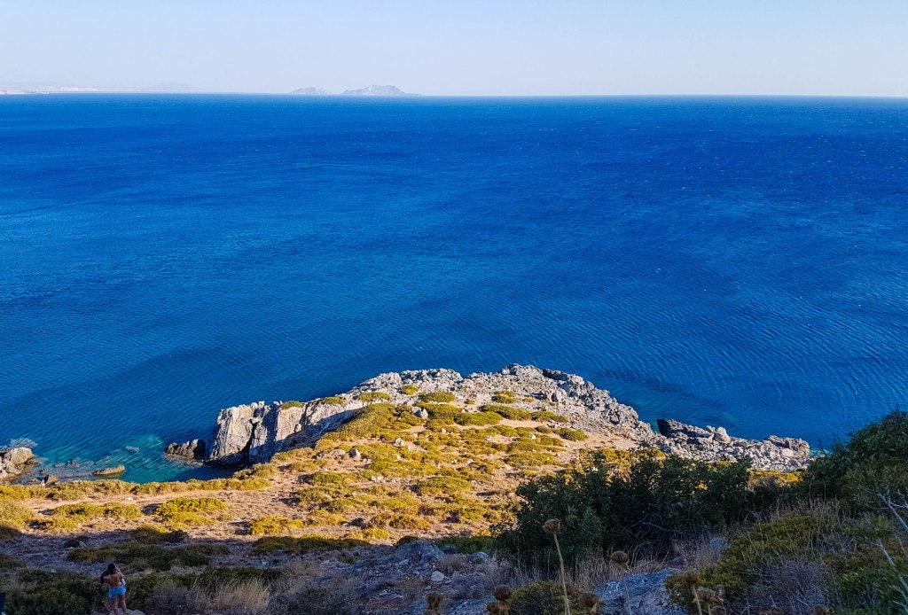 Preveli beach in Crete island