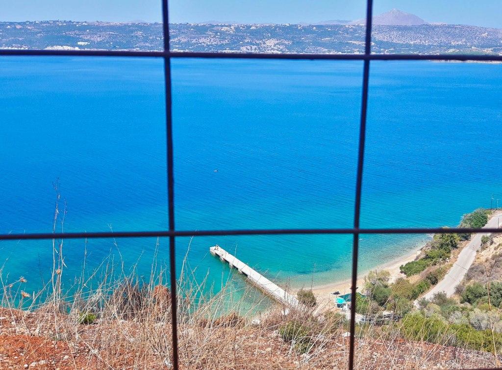 Kalami beach in Crete