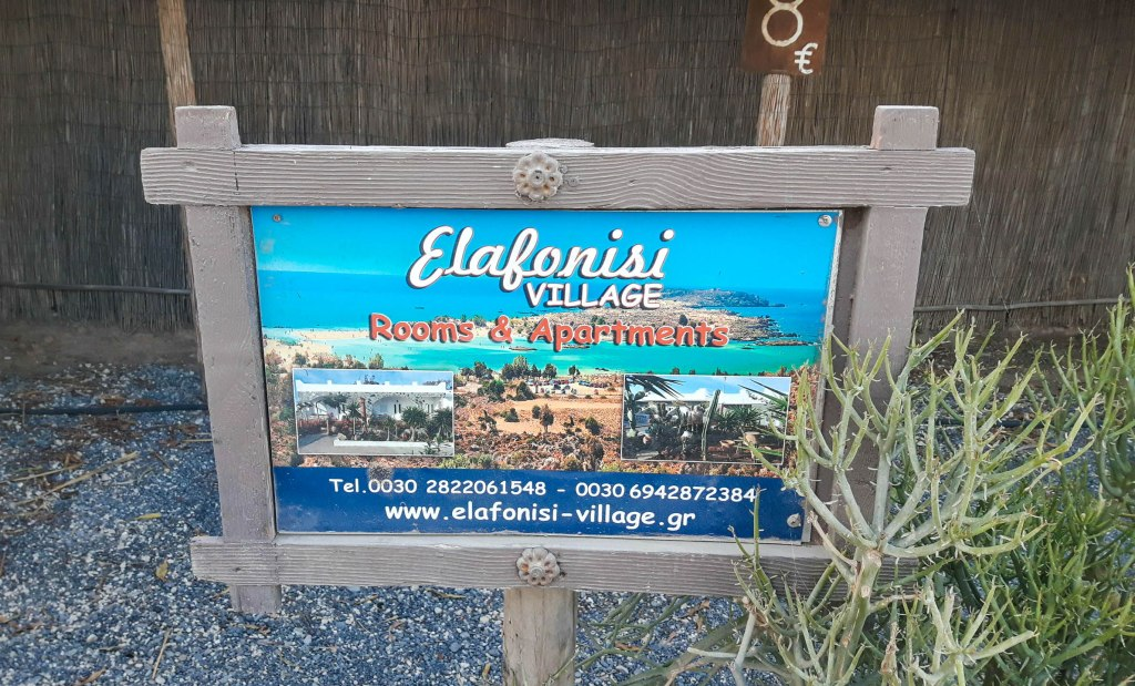 Elafonisi rooms and apartments to rent
