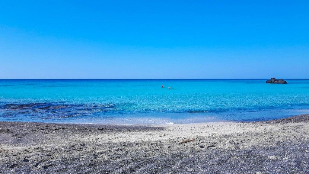 Kedrodasos beach in Crete island