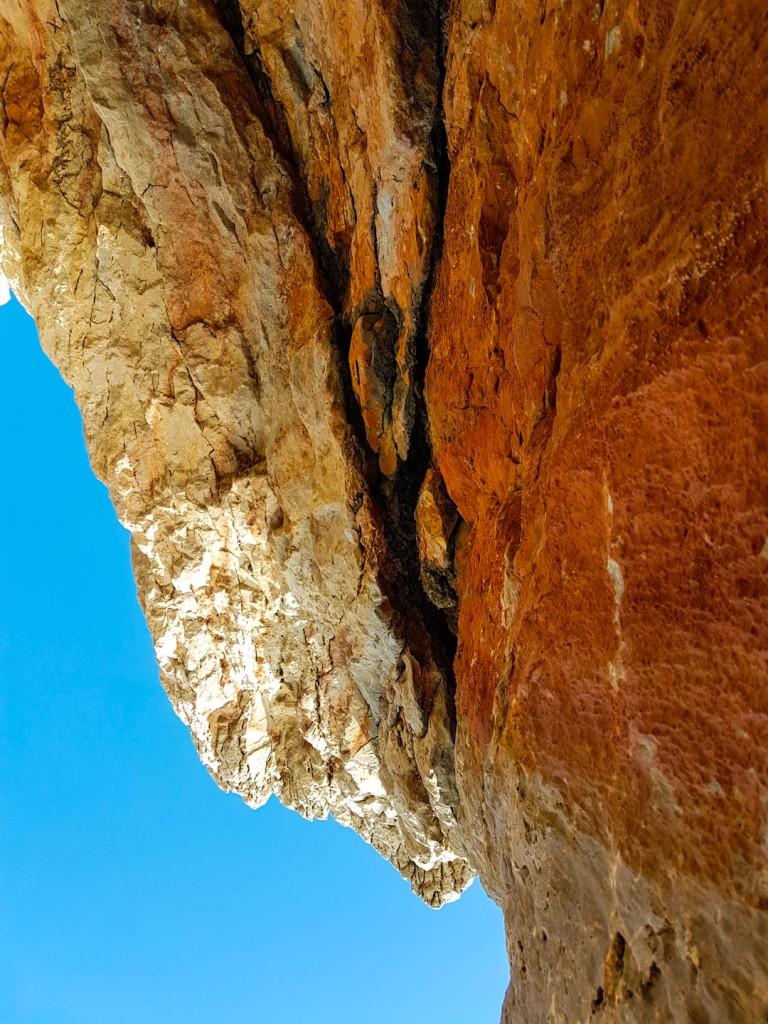 Crete island rocks