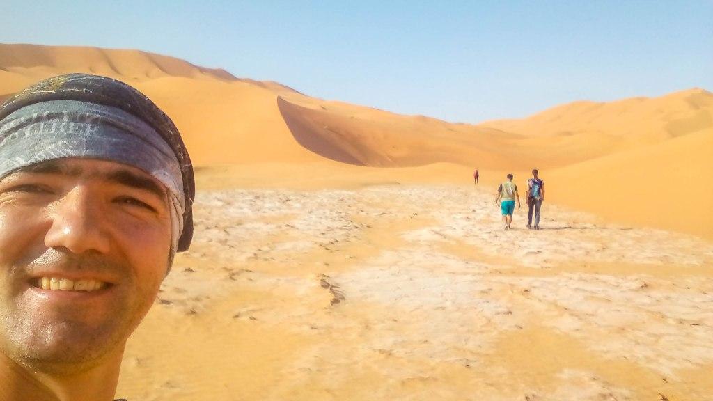Rub Al Khali or Empty Corner is one of the biggest deserts in Oman