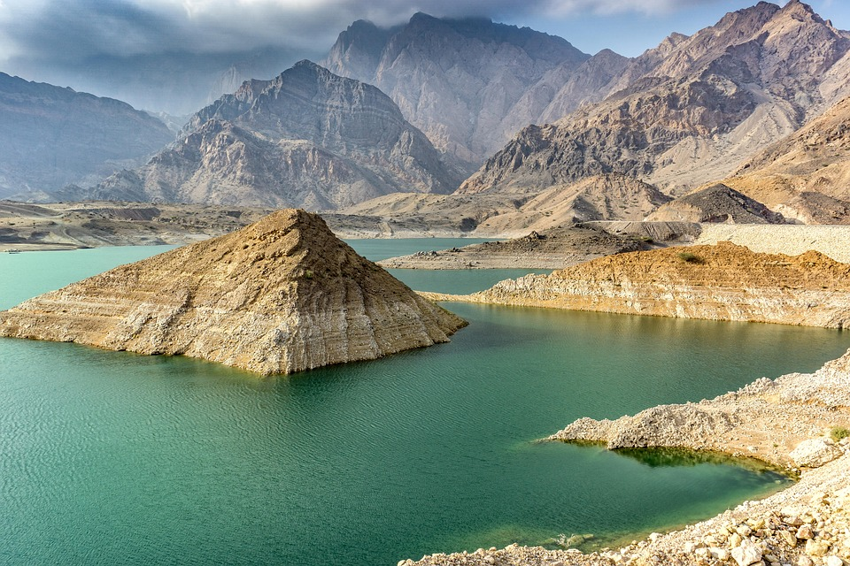 Oman nature water and mountains