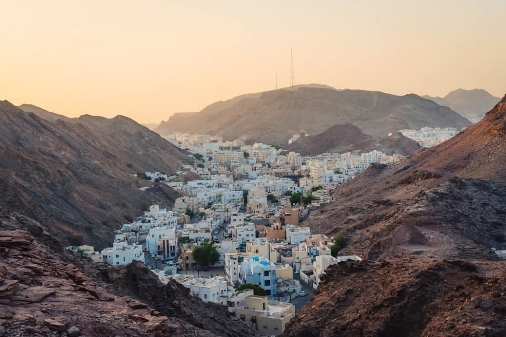 Muscat city in Oman