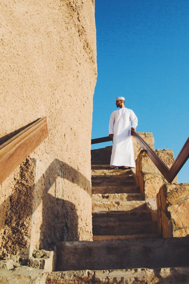 People in Oman, Muscat