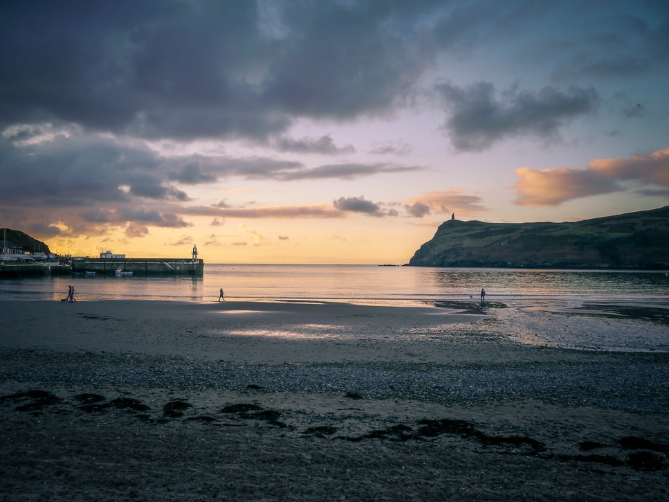 Port Erin Beach in Isle of Man