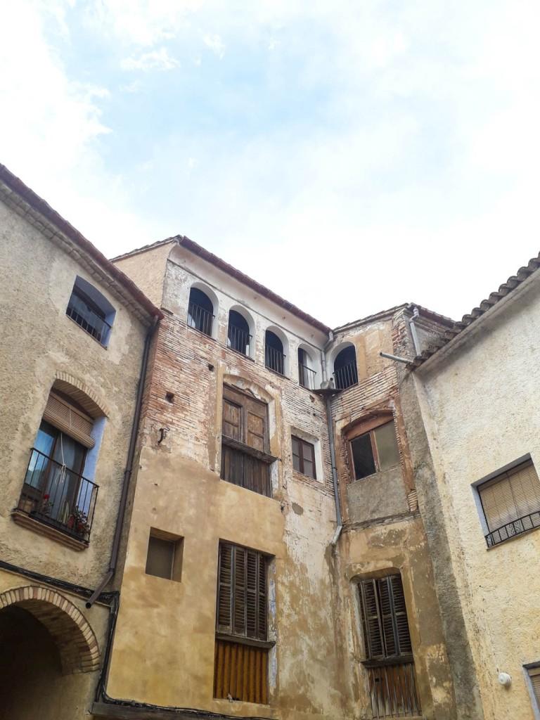 Miravet town in Spain