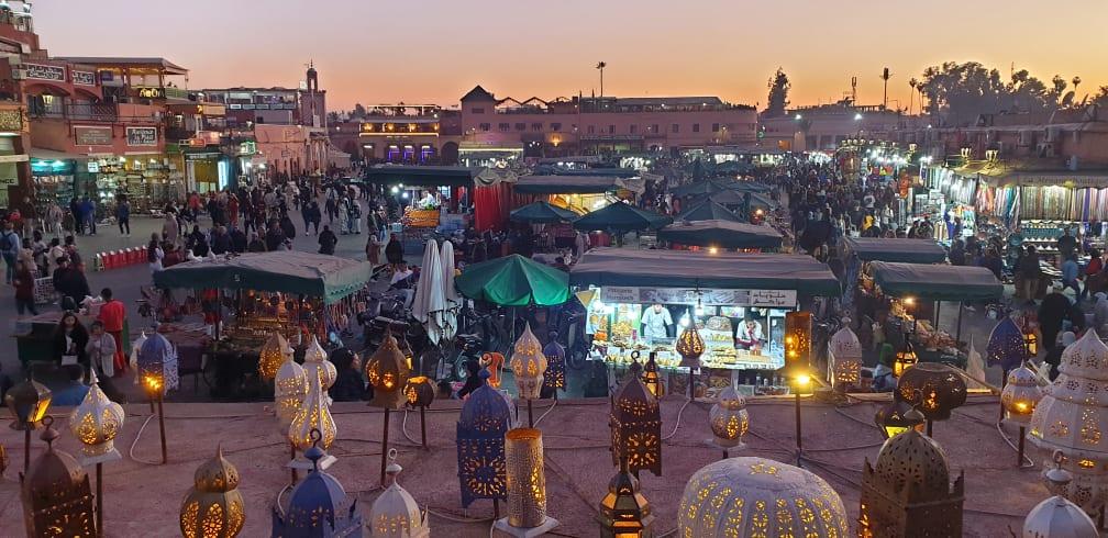 Ulični market u Maroku