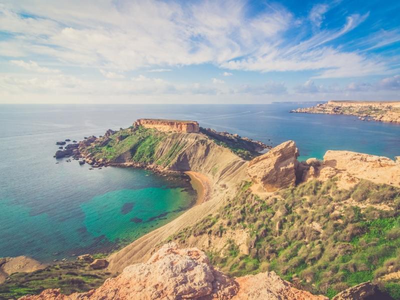 Malta beautiful coast