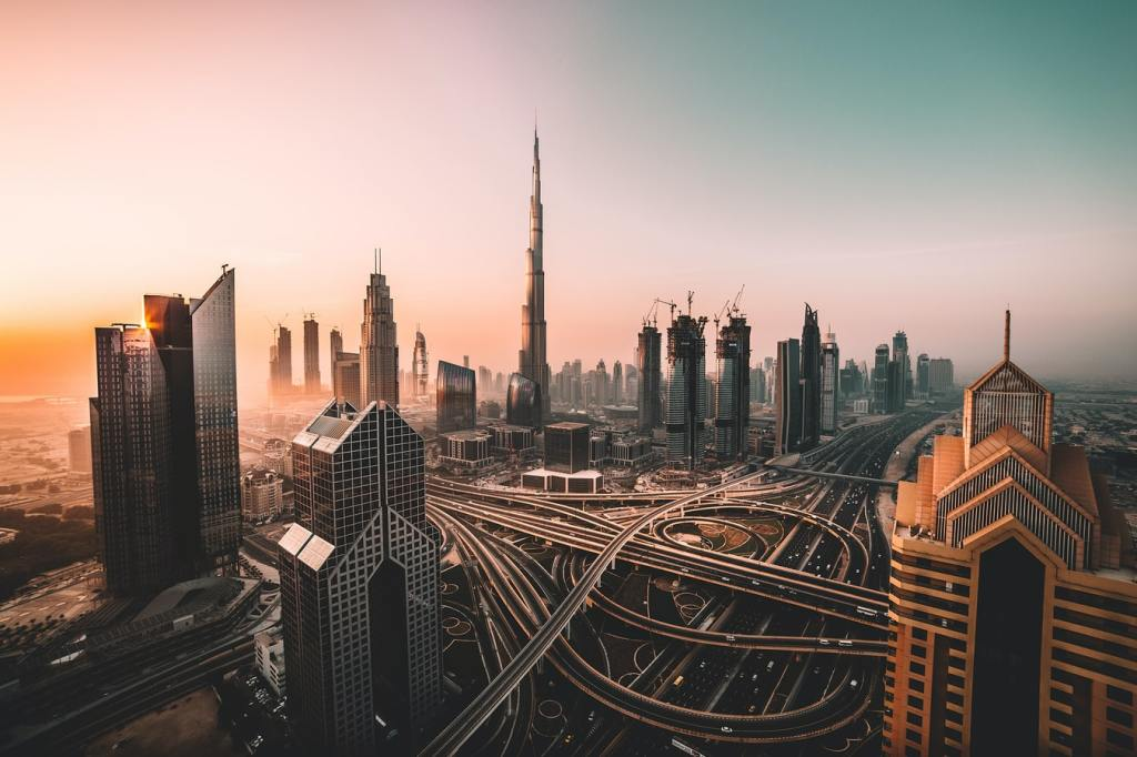 Dubai sunset