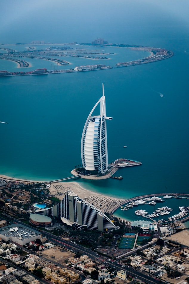 Dubai from the air