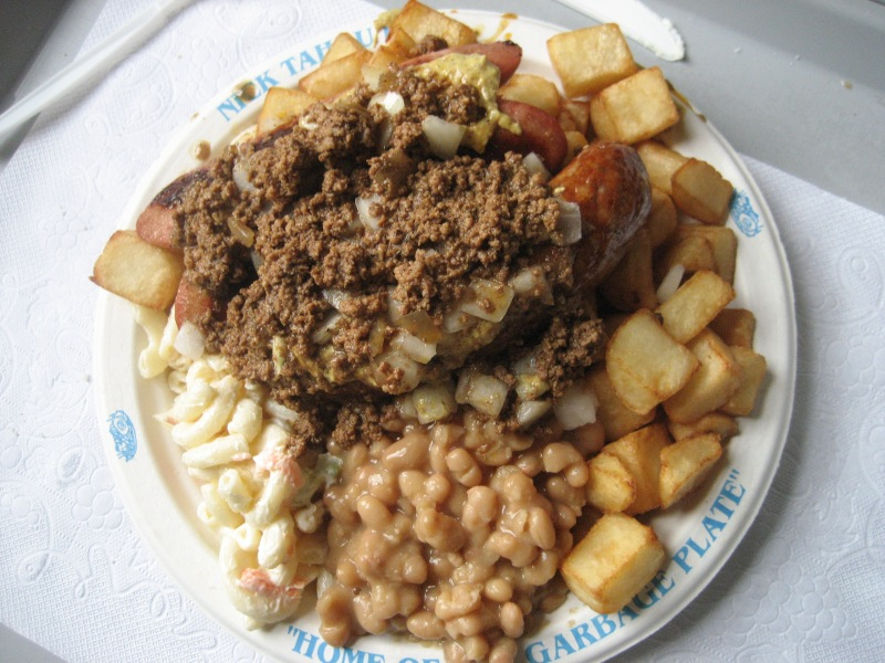 Garbage plate New York